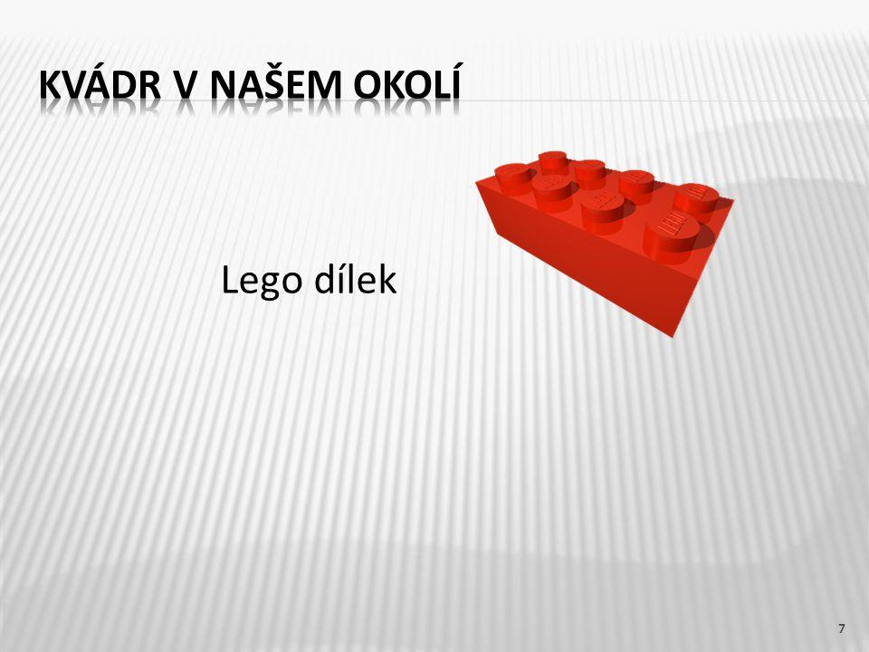Lego dílek 7