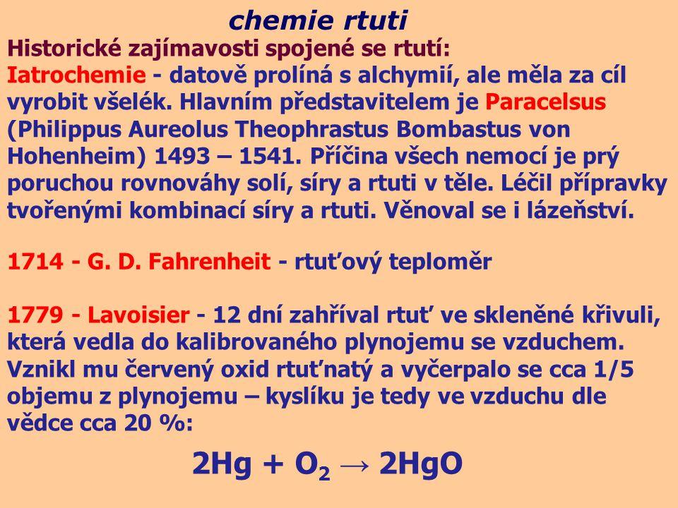 Iatrochemie - datově prolíná s alchymií, ale měla za cíl vyrobit všelék. Hlavním představitelem je Paracelsus (Philippus Aureolus Theophrastus Bombast