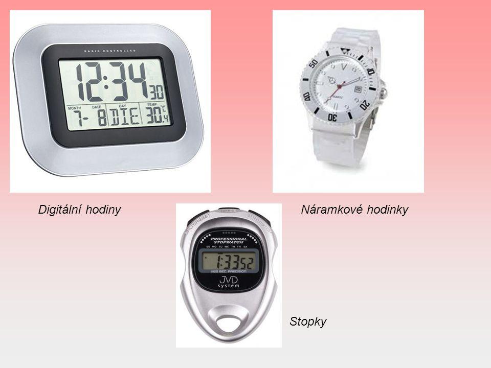 Digitální hodinyNáramkové hodinky Stopky