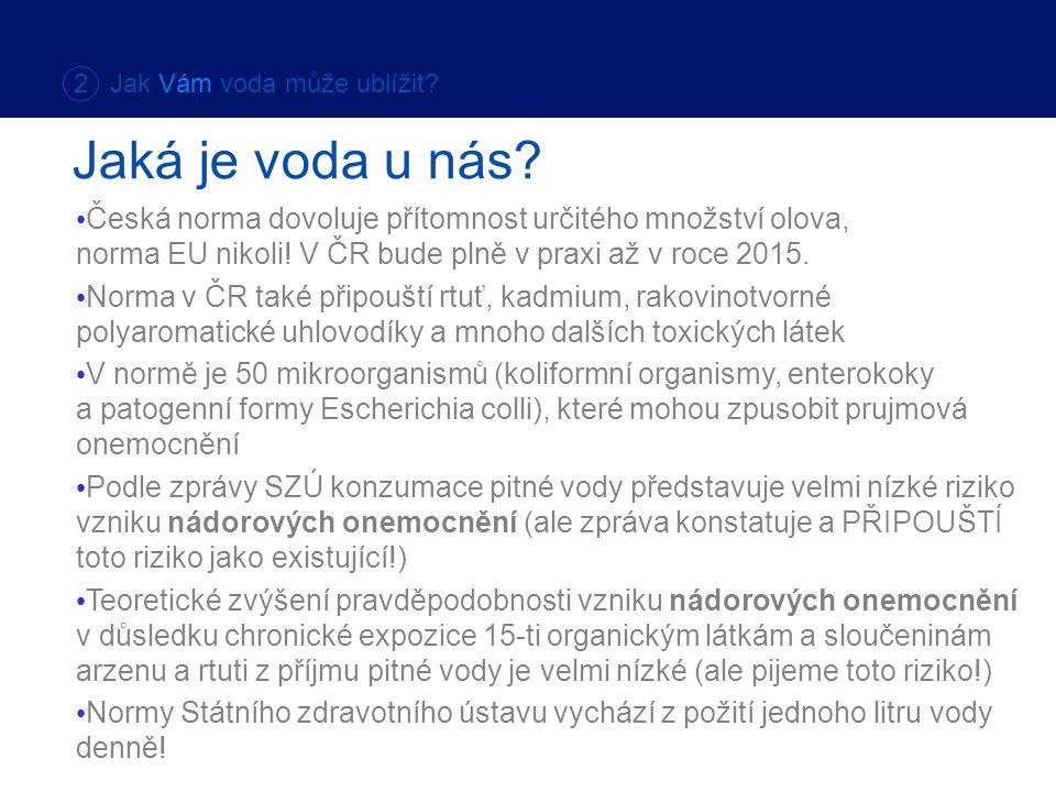 Česká norma dovoluje přítomnost určitého množství olova, norma EU nikoli! V ČR bude plně v praxi až v roce 2015. Norma v ČR také připouští rtuť, kadmi