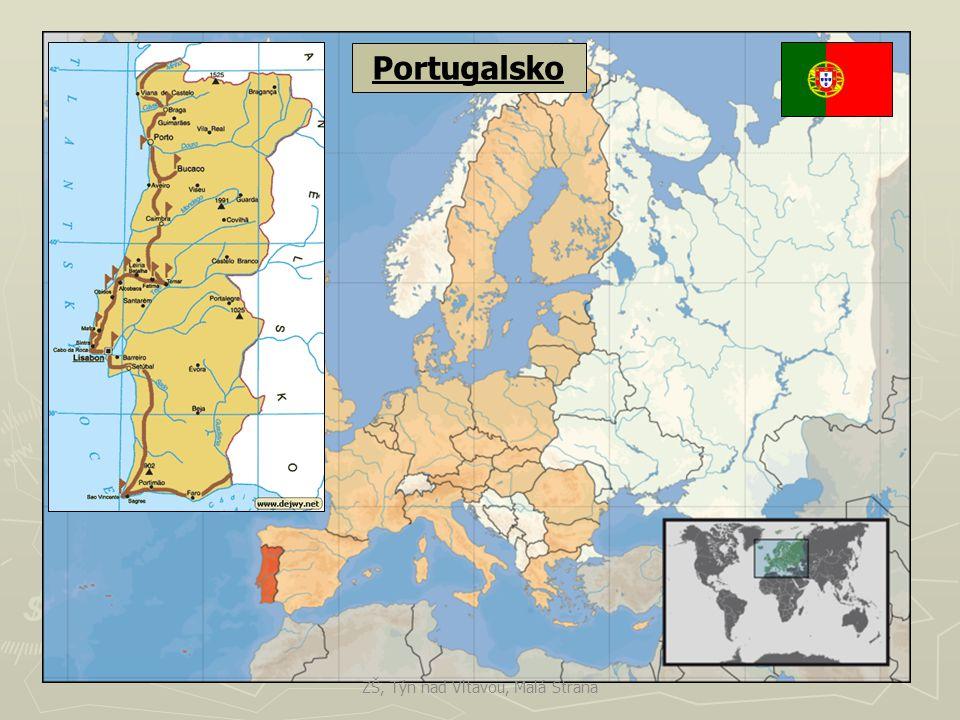 Portugalsko ZŠ, Týn nad Vltavou, Malá Strana
