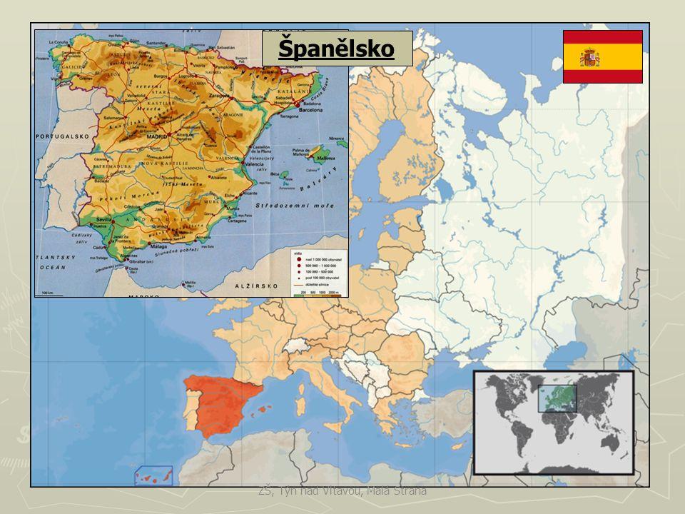 Španělsko ► 45 mil.