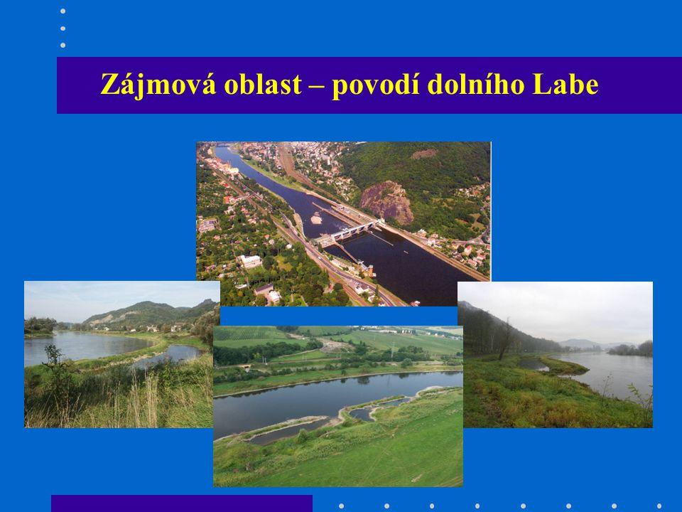 Zájmová oblast – povodí dolního Labe