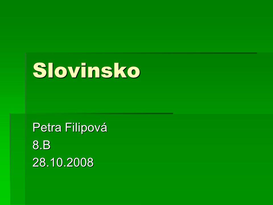 Slovinsko Petra Filipová 8.B28.10.2008