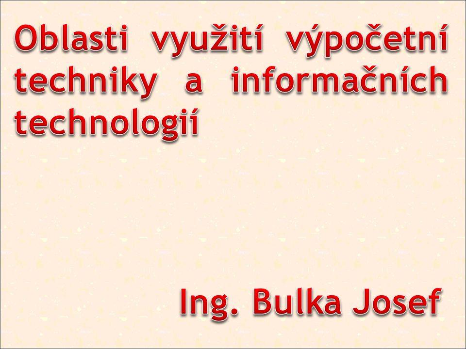 Prvky informačních a komunikačních technologií pronikají do všech oblastí života společnosti.