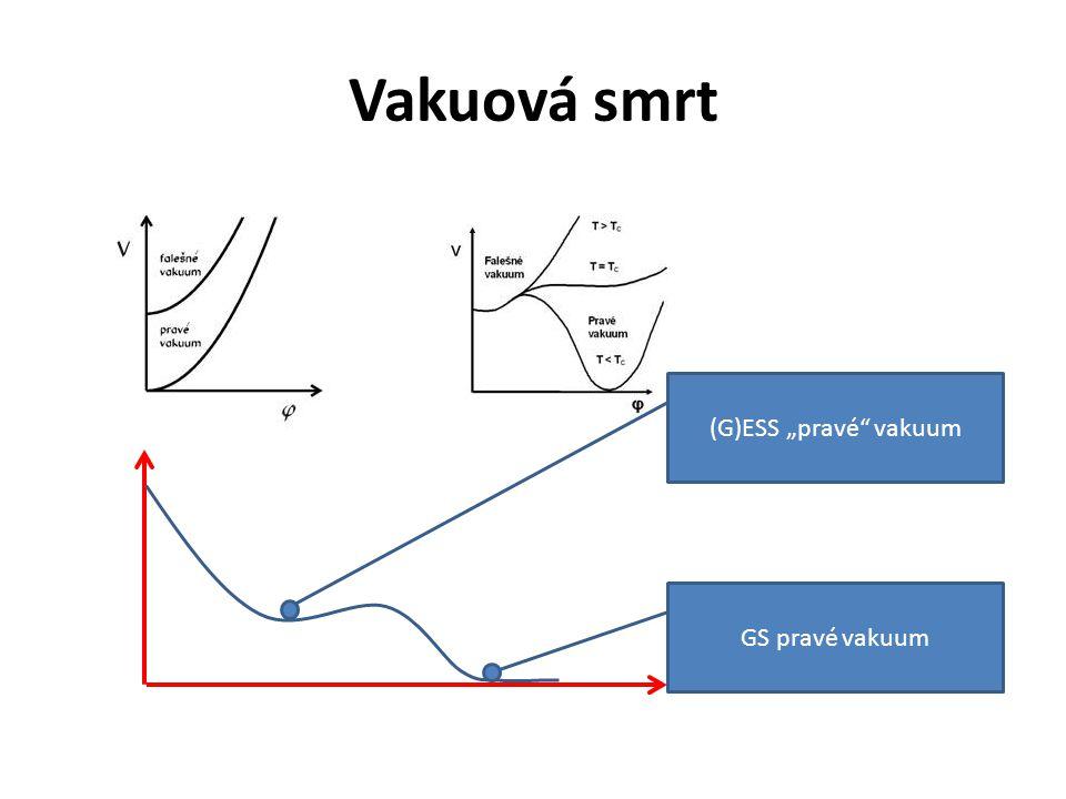 """Vakuová smrt (G)ESS """"pravé"""" vakuum GS pravé vakuum"""