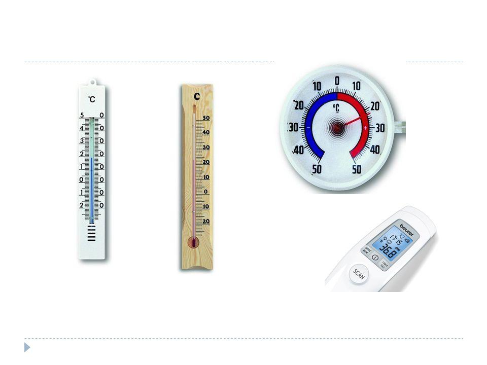  princip měření teploty  teplotní délková roztažnost  kapalina v kapiláře teploměru se při zahřívání začne rozpínat  teploměr přijímá teplo od druhého tělesa tak dlouho, dokud jejich teplota není vyrovnaná = tepelná výměna  teplota je základní fyzikální veličina, která charakterizuje stav tělesa při tepelném ději