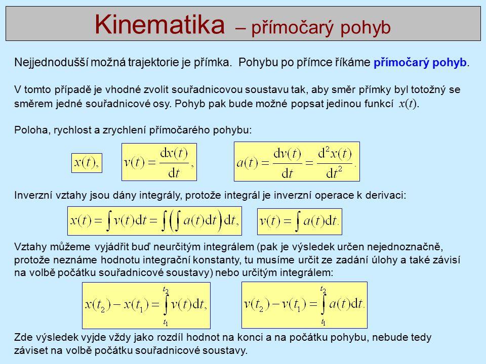 Vztah pro amplitudu jednorozměrné vlny pohybující se v kladném směru osy x je dán výrazem, kde u(x, t) je okamžitá výchylka vlny v čase a poloze a další dva parametry jsou ω … úhlová frekvence,, k … vlnové číslo,, je jsme zavedli následující nové veličiny: f … (obyčejná) frekvence, počet kmitů vlny za jednotku času, T = 1/f … perioda, časový rozdíl mezi dvěma body téže fáze, (obě definice platí pro pevně daný bod x 0 tj.