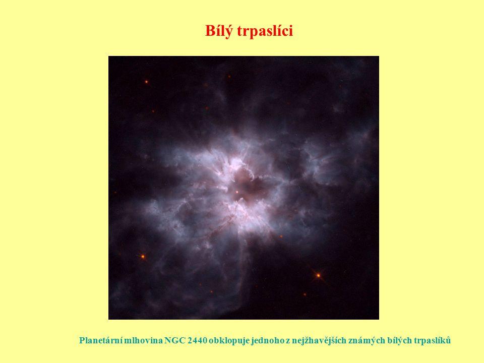 """Milisekundové pulsary Rekordní například PSR B1937+21 (P = 1,56 ms), PSR B1957+20 (P = 1,61 ms) Nejrychlejší rotace u PSR J1748-2446ad (objev roku 2005) (P = 1,40 ms ↔ 716 otáček/s) """"Recyklované pulsary jsou velmi stabilní P = 0,0015578064924327  0,0000000000000004 s Opětné zrychlení rotace pulsaru ve dvojhvězdě přenosem momentu hybnosti s hmotou přetékající s normální složky – extrémně rychlá rotace Velká pravděpodobnost dvojhvězd v kulových hvězdokupách → hledání milisekundových pulsarů tam"""