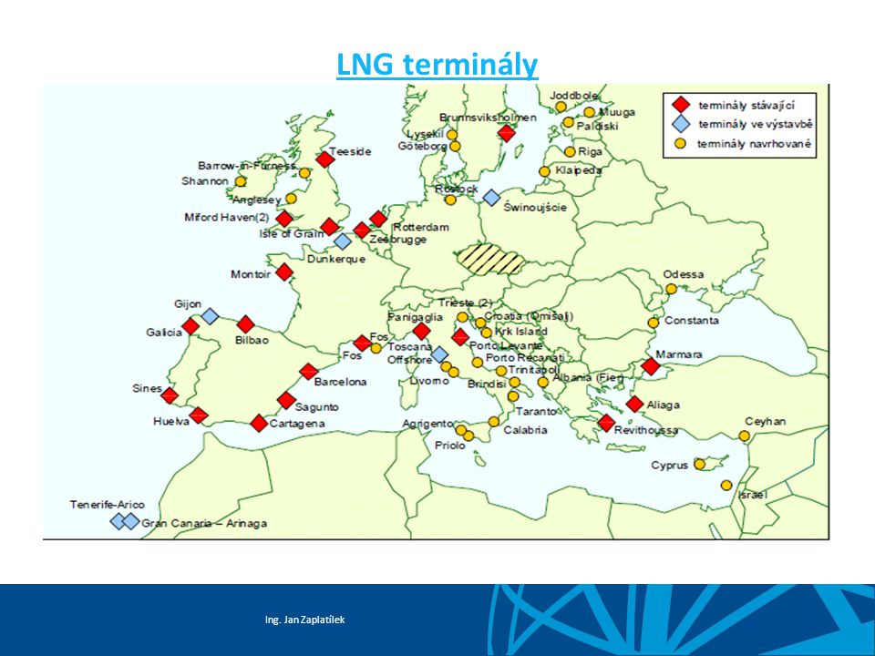 Ing. Jan Zaplatílek LNG terminály