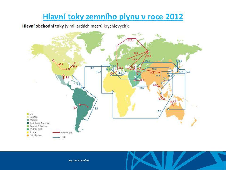 Ing. Jan Zaplatílek Struktura dovozu LNG do EU 27 dle země původu