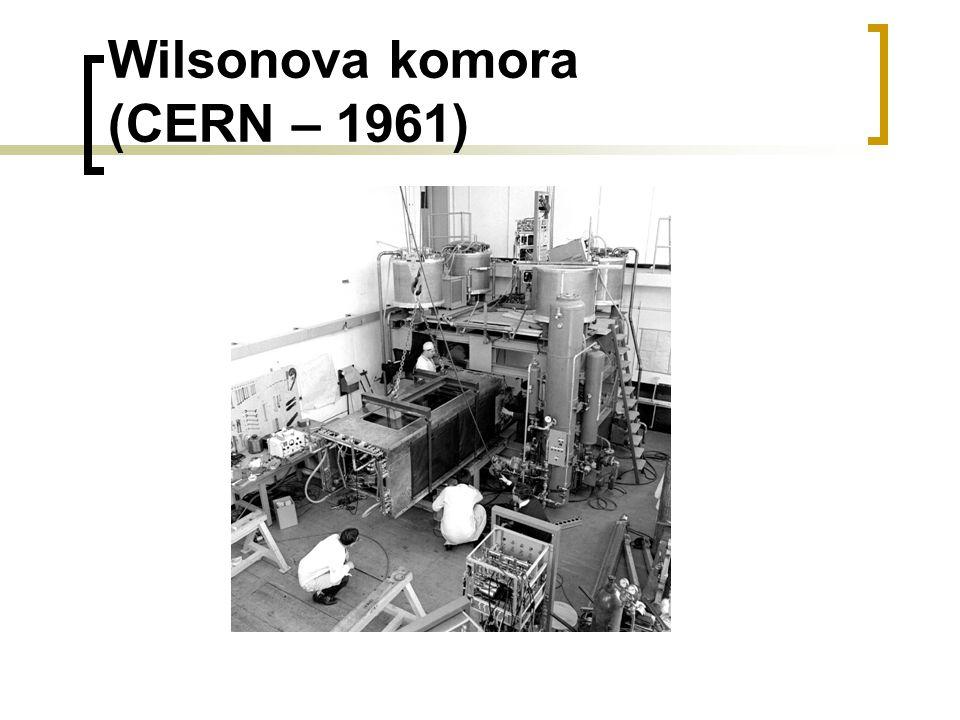 Wilsonova komora (CERN – 1961)