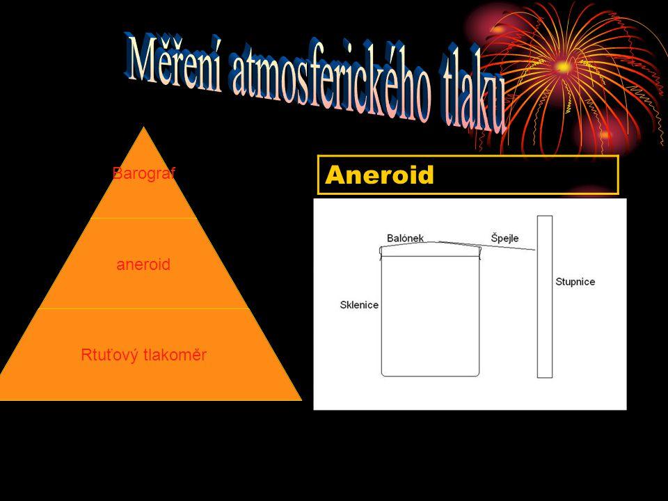Aneroid Barograf aneroid Rtuťový tlakoměr