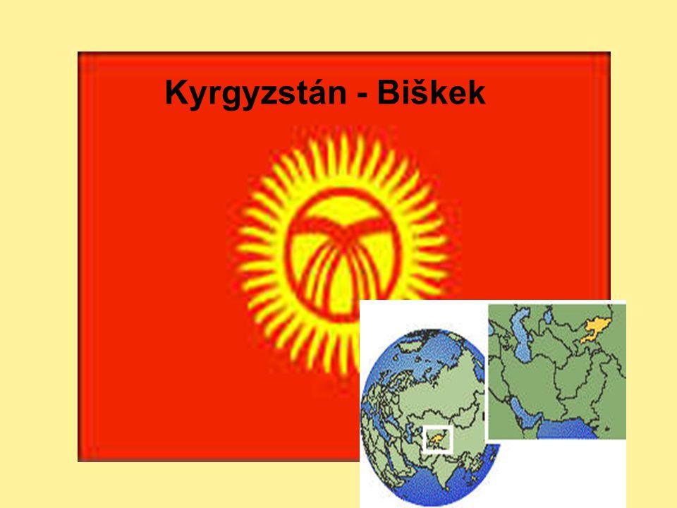 Kyrgyzstán - Biškek