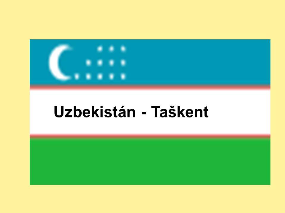 Uzbekistán - Taškent