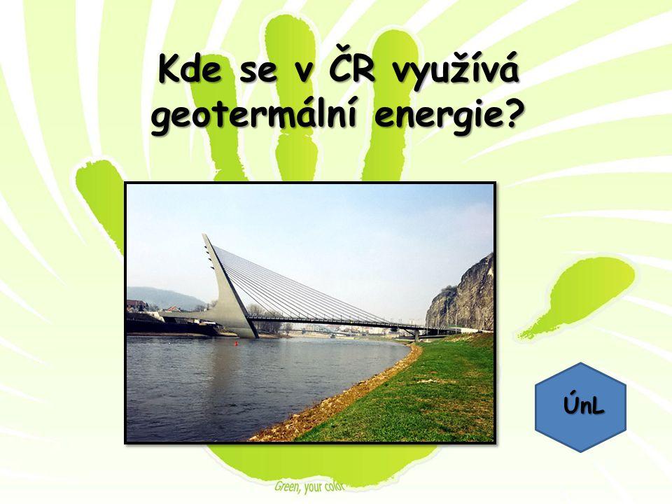 Kde se v ČR využívá geotermální energie? ÚnL