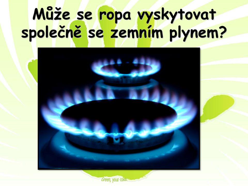 Může se ropa vyskytovat společně se zemním plynem