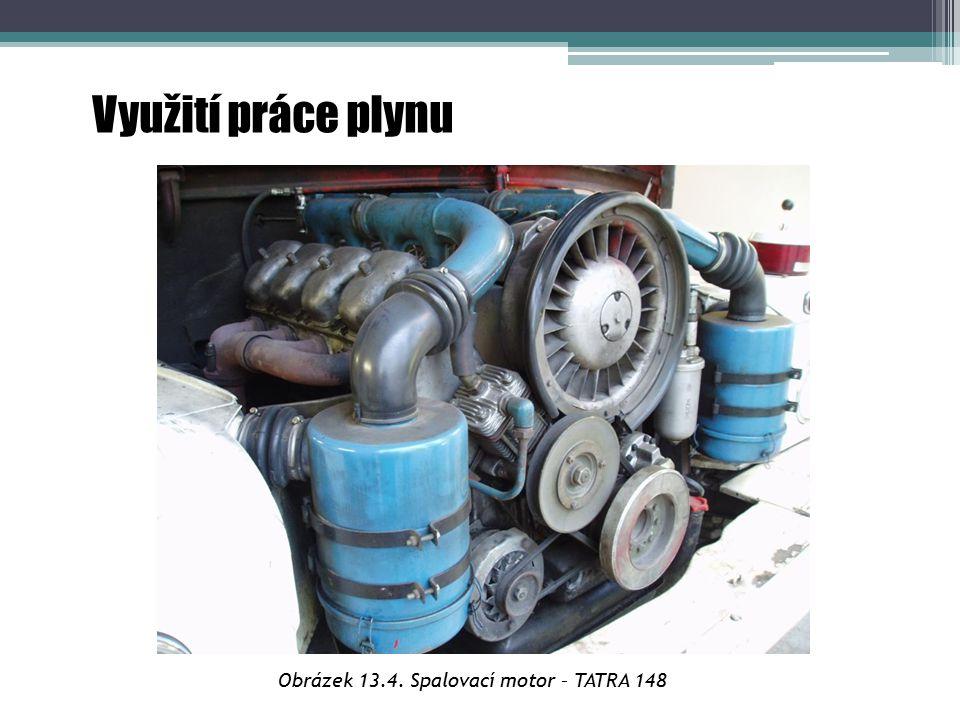 Využití práce plynu Obrázek 13.4. Spalovací motor – TATRA 148