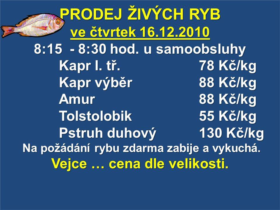 Zemědělský podnik Dolní Dunajovice bude v pátek 17.12.