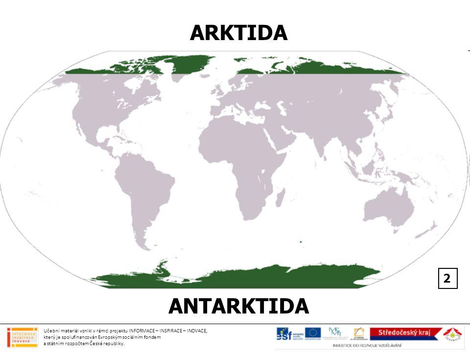 ARKTIDA ANTARKTIDA 2