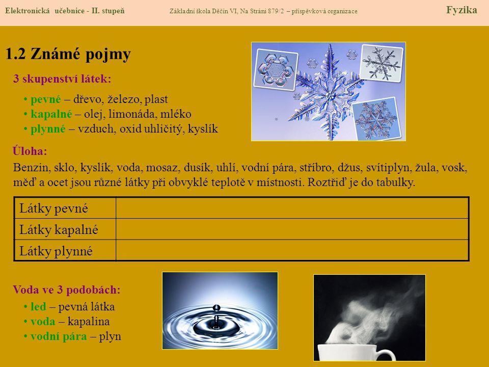 1.3 Nové pojmy Elektronická učebnice - II.