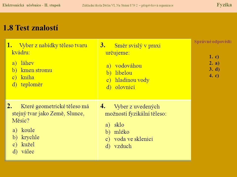 1.9 Použité zdroje Elektronická učebnice - II.