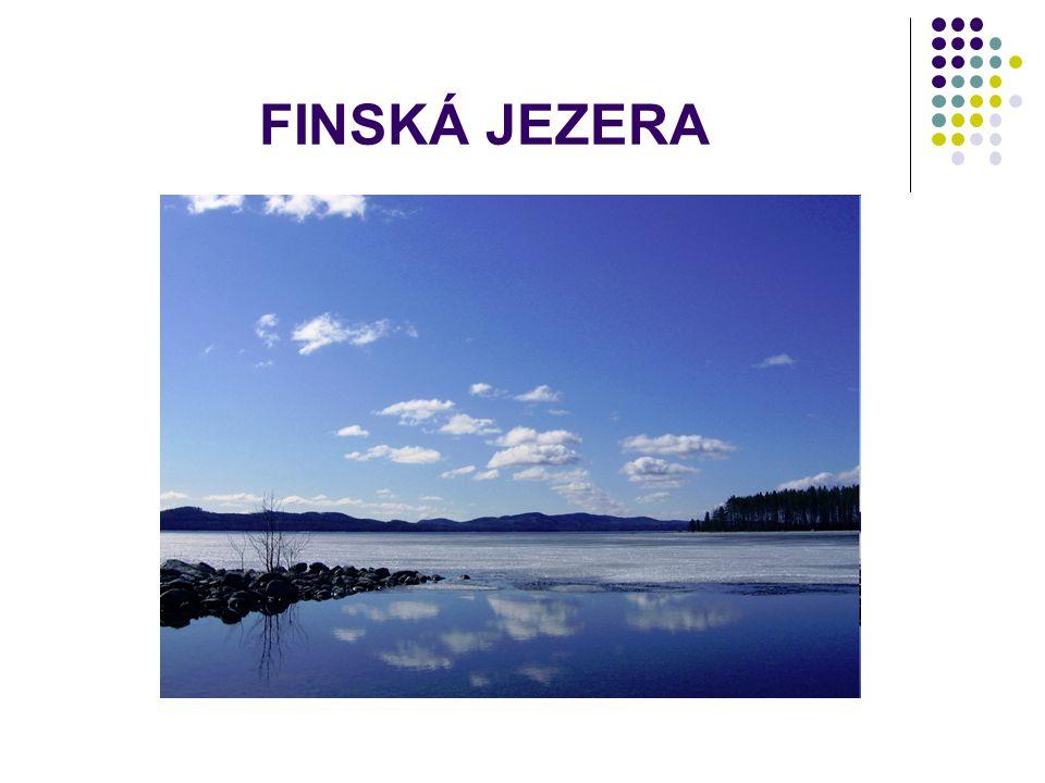 FINSKÁ JEZERA