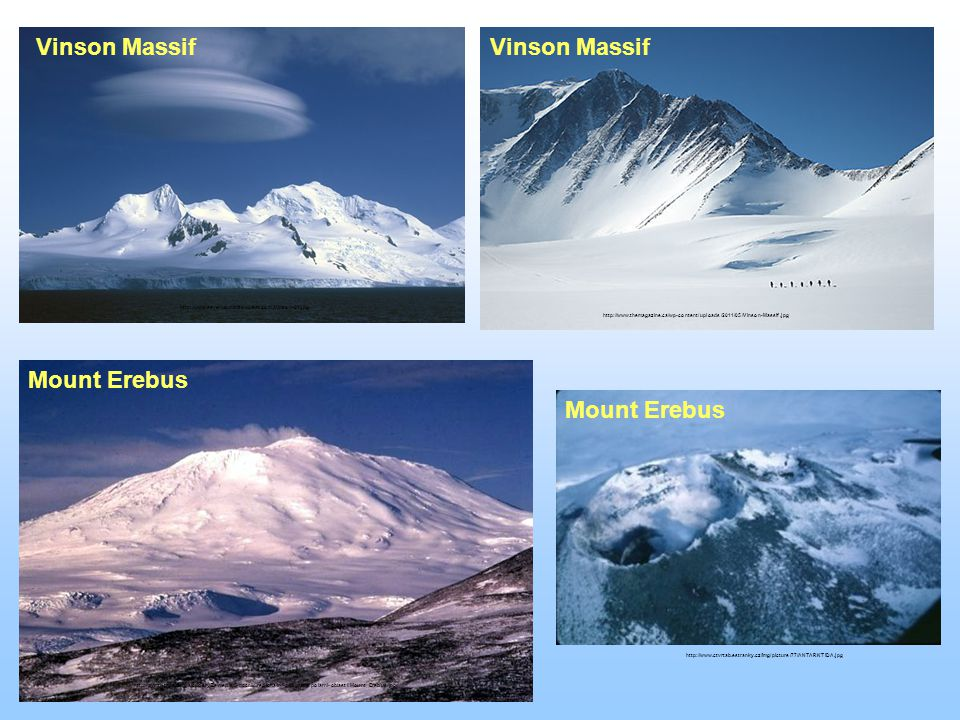 Vinson Massif http://www.seven-summits-quest.com/Vinson-01.jpg Vinson Massif http://www.themagazine.ca/wp-content/uploads/2011/05/Vinson-Massif.jpg Mo