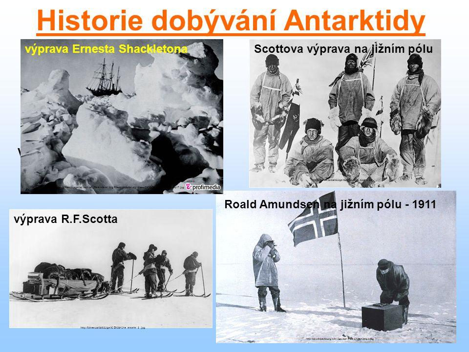 Polární stanice Plateau (USA) http://21stoleti.cz/wp-content/images/1142526718.jpg Vostok (Rusko) http://media.televize.cz/article/v9y5fpvv7udf.jpg Mawson (Austrálie) http://www.sberatel-ksk.cz/sberatel/poh/04_4/poh4.jpg Amundsen-Scott (Velká Británie) http://i.idnes.cz/10/123/gal/MBO3820e3_amundsenscott.jpg