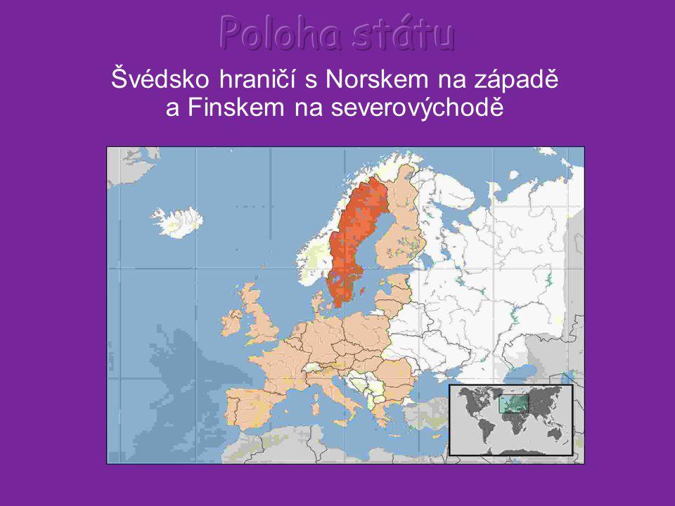 Přírodní poměry Švédsko se nachází na Skandinávském poloostrově v severní Evropě.