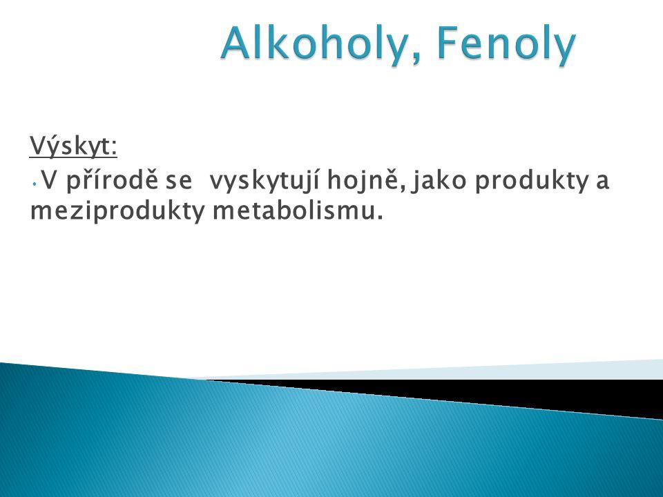  Alkoxoniové soli jsou meziprodukty řady reakcí, např.