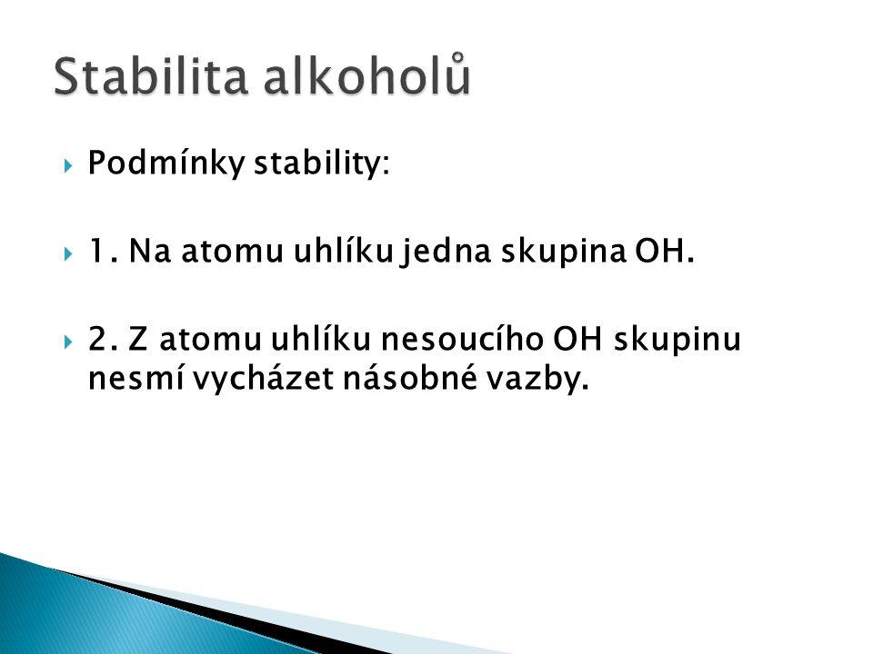  Je to reakce alkoholů s minerálními nebo organickými kyselinami za vzniku vody a esteru.