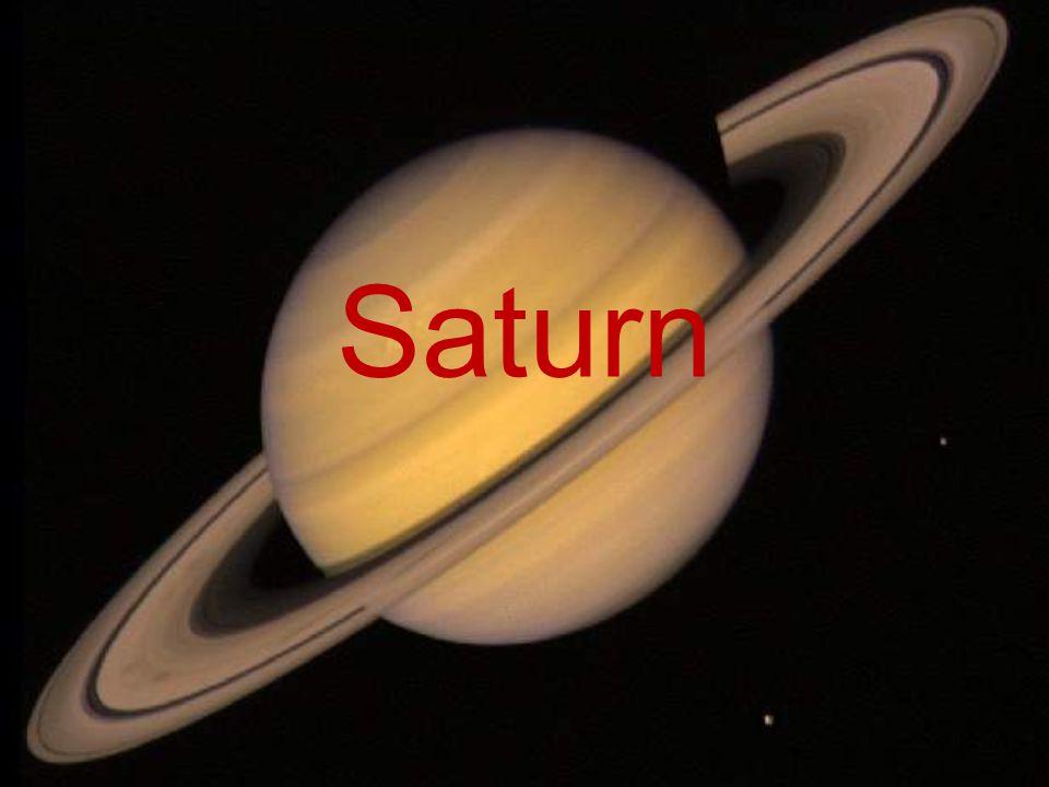 Základní údaje Plynný obr Vnější planeta (mezi Jupiterem a Uranem – 6.