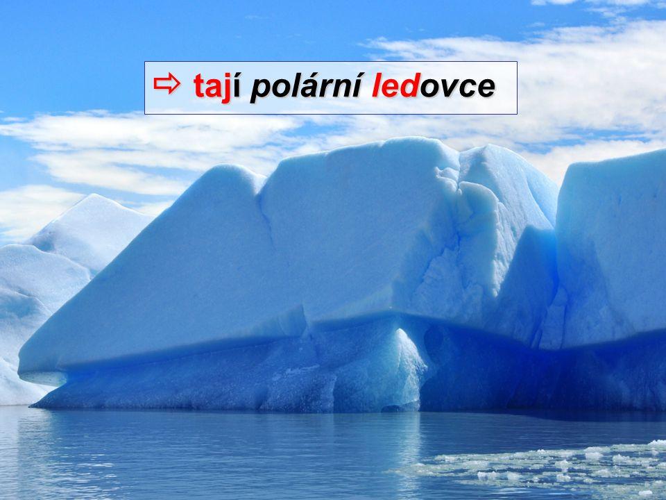  tají polární ledovce