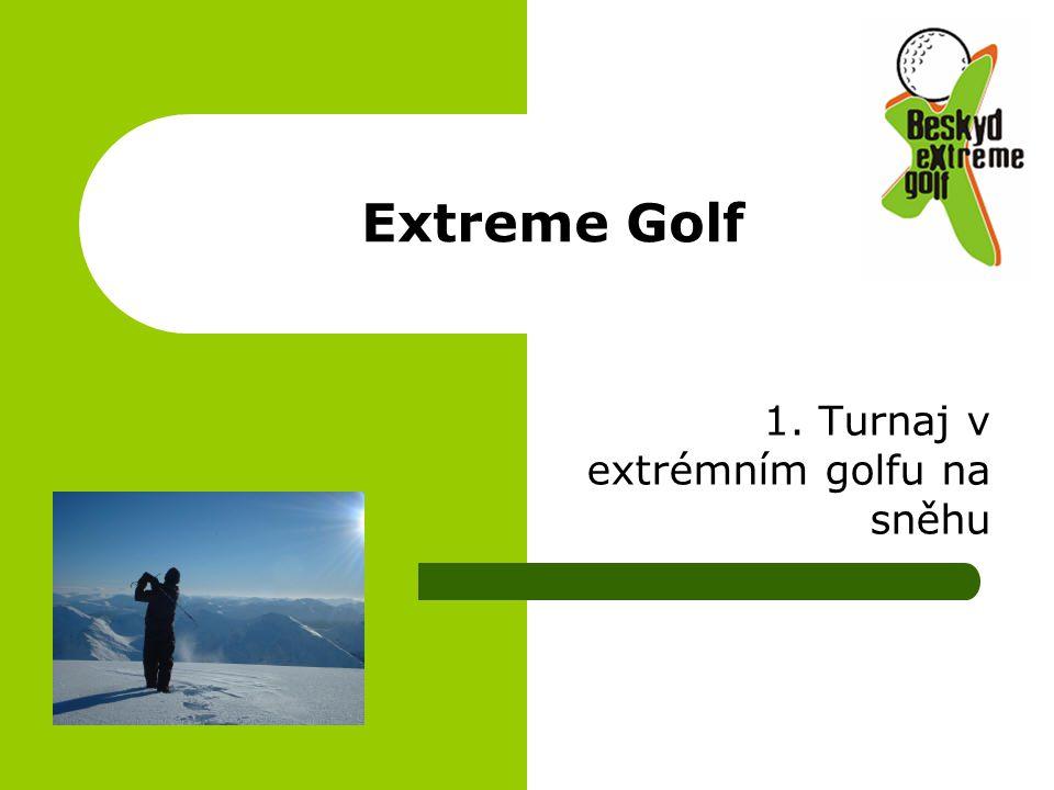 Extreme Golf 1. Turnaj v extrémním golfu na sněhu