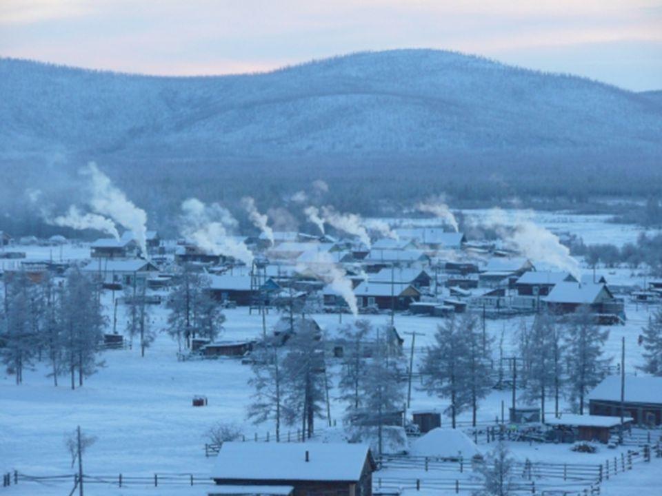 26. ledna 1926 tu bylo naměřeno -71,2 ºC. Na začátku léta se teplota v Ojmjakonu zvedne až ke 32 ºC nad nulou ¨, ale v polovině července opět začíná z