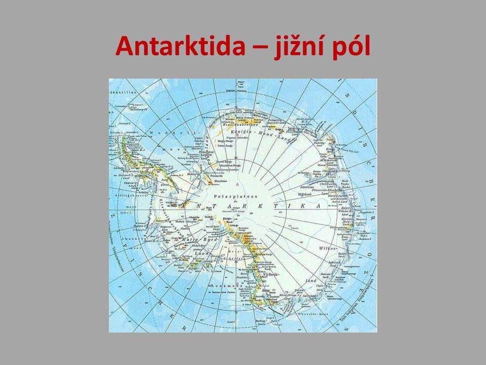 Antarktida – jižní pól