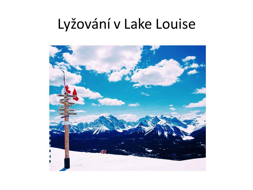 Lyžování v Lake Louise