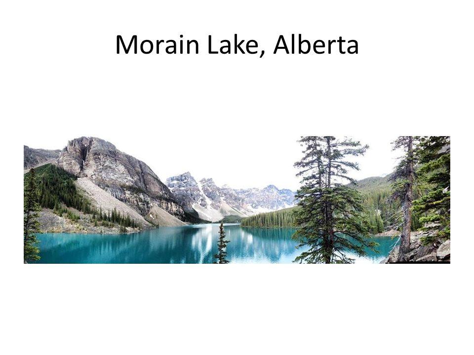 Morain Lake, Alberta