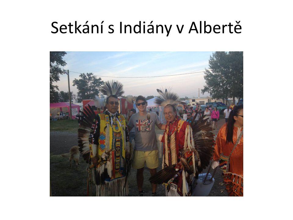 Setkání s Indiány v Albertě
