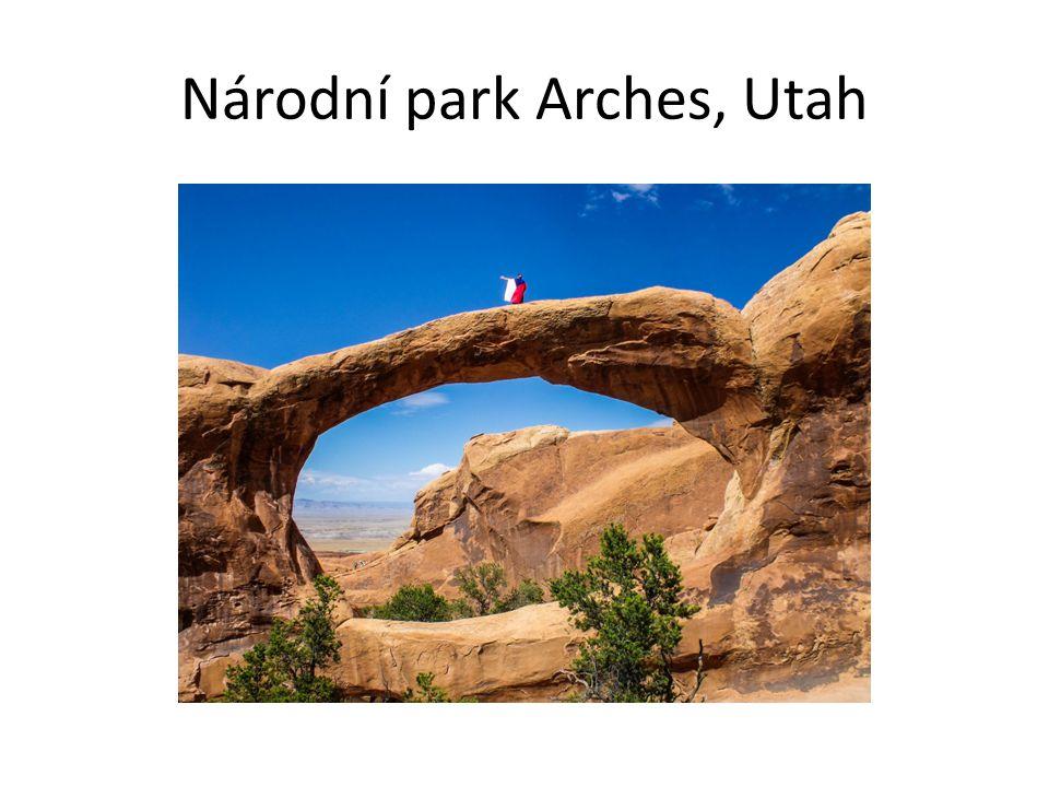 Národní park Arches, Utah