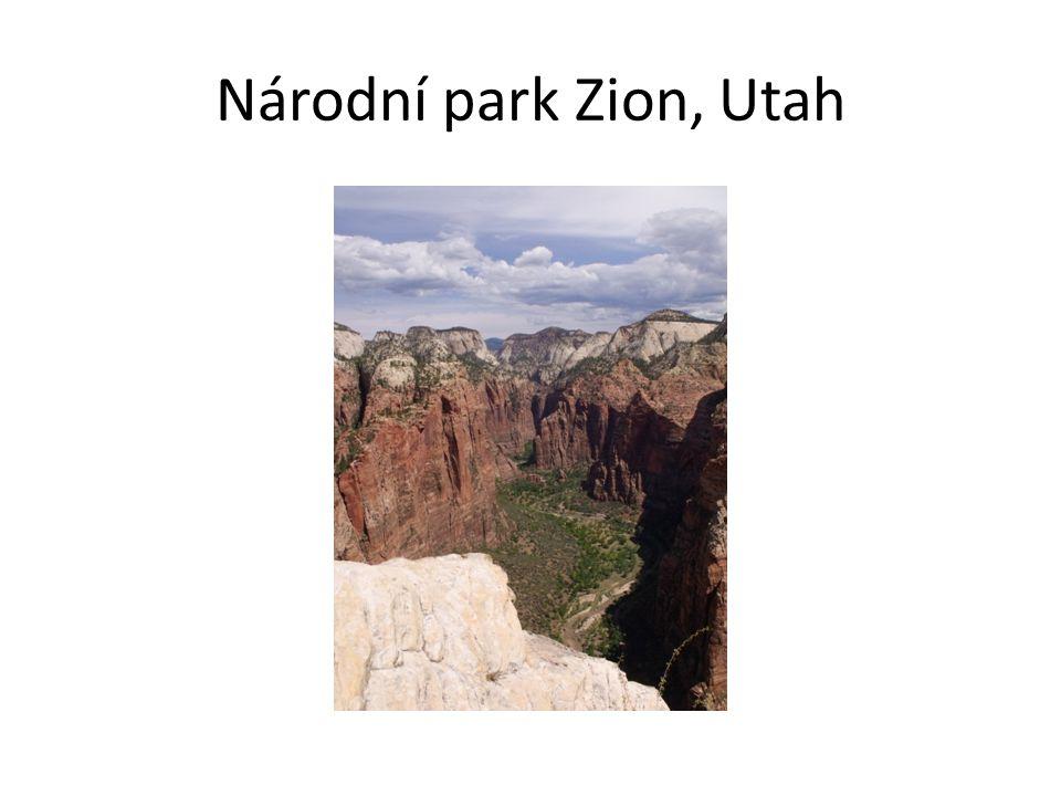 Národní park Zion, Utah