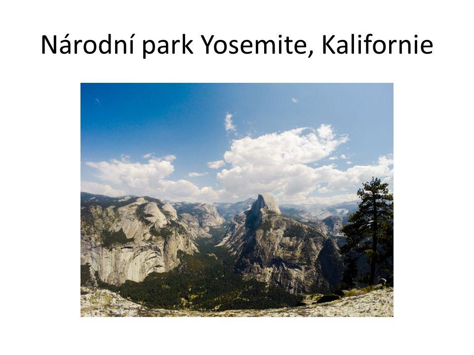 Národní park Yosemite, Kalifornie