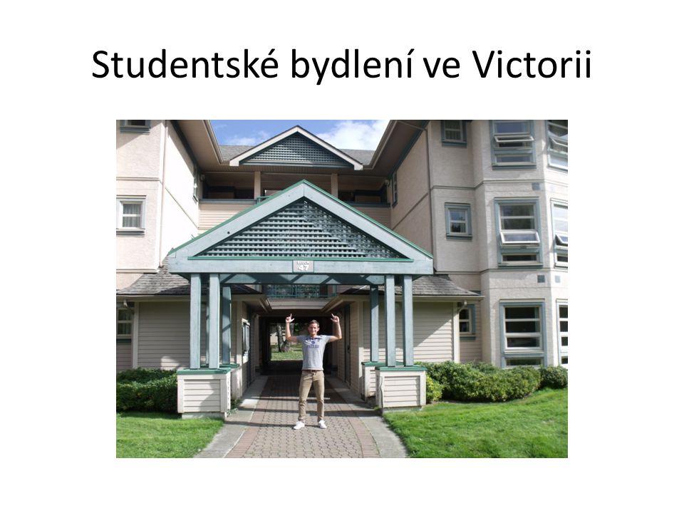 Studentské bydlení ve Victorii