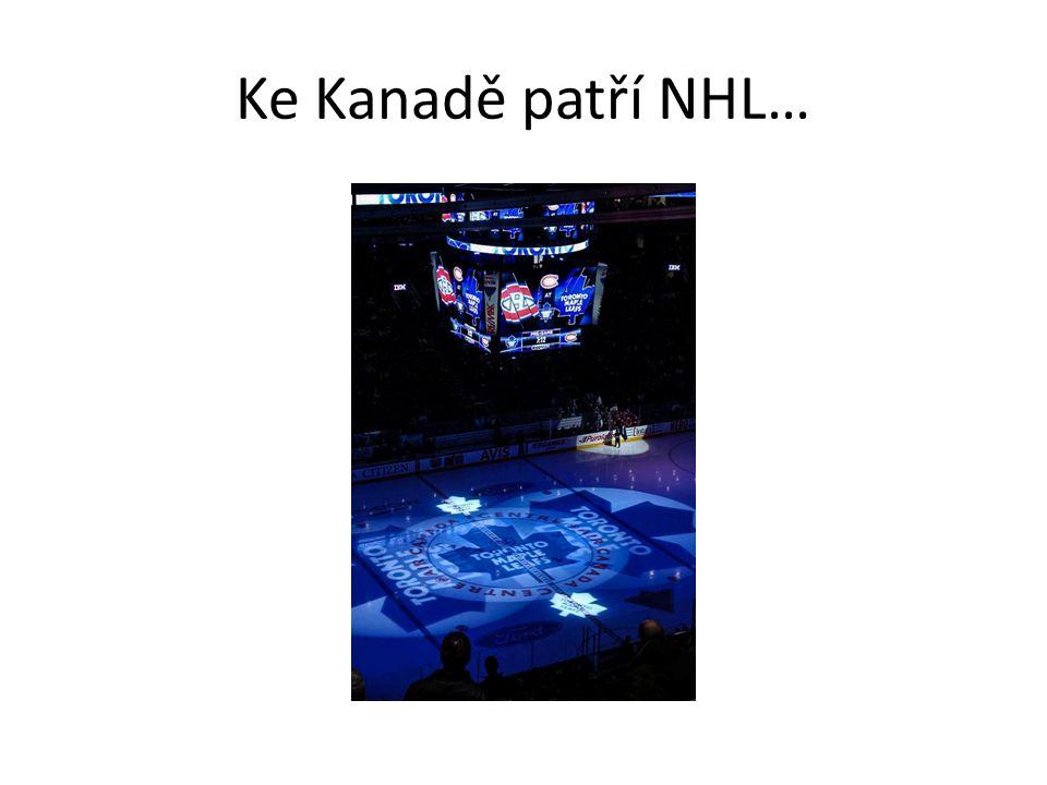 Ke Kanadě patří NHL…