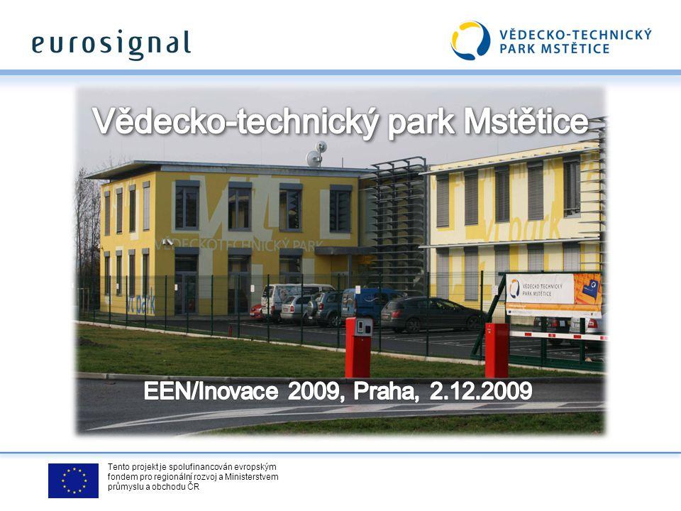 Tento projekt je spolufinancován evropským fondem pro regionální rozvoj a Ministerstvem průmyslu a obchodu ČR