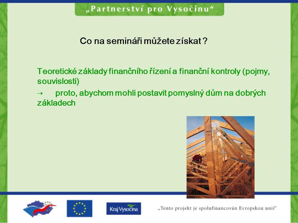 Finanční kontrola a EU Kapitola 28: Finanční kontrola – podle standardů platných v EU Komplexní a funkční systém finanční kontroly představuje základní předpoklad pro čerpání finančních prostředků z fondů EU.