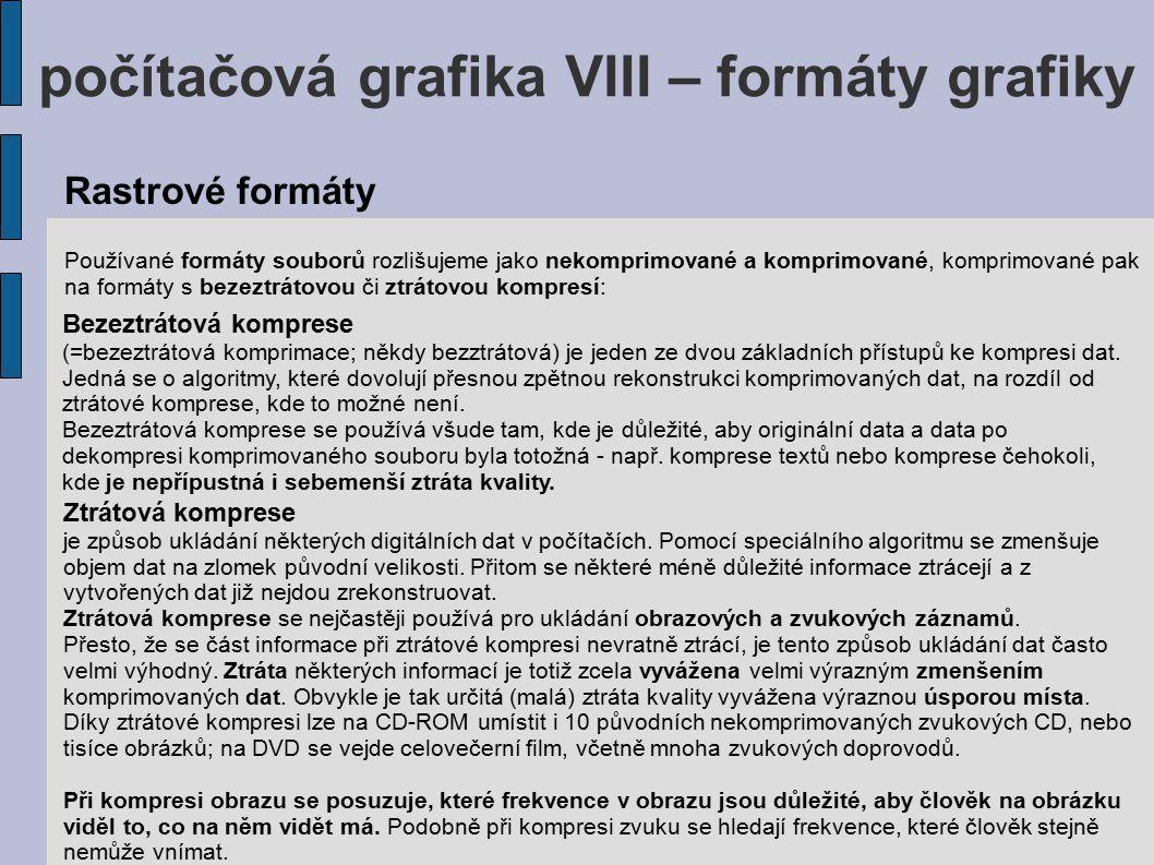 počítačová grafika VIII – formáty grafiky PDF (zkratka anglického názvu Portable Document Format – Přenosný formát dokumentů) je souborový formát vyvinutý firmou Adobe pro ukládání dokumentů nezávisle na softwaru i hardwaru, na kterém byly pořízeny.