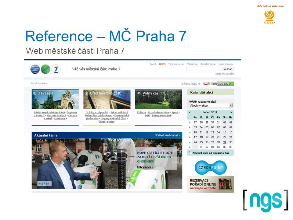 Reference – MČ Praha 7 Web městské části Praha 7