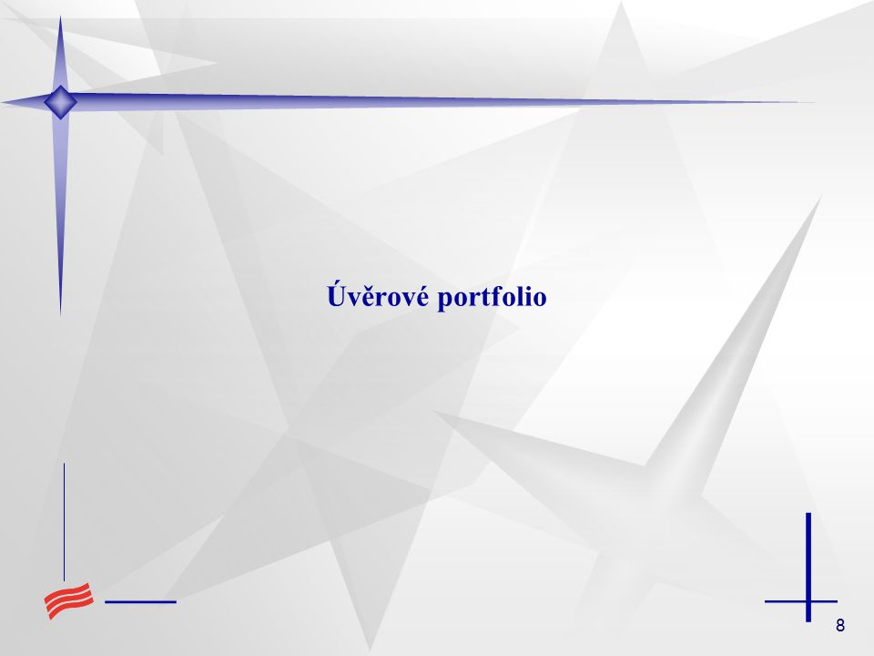 8 Úvěrové portfolio
